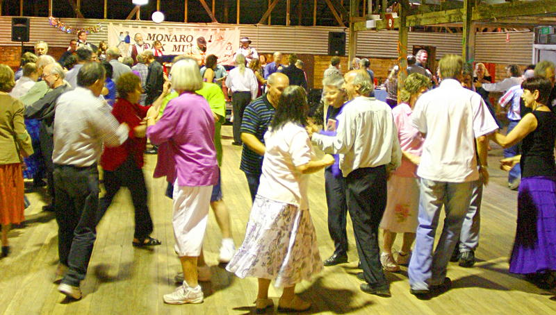 New year's eve dance at the Yarralumla Woolshed