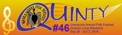 Quinty logo with festival date