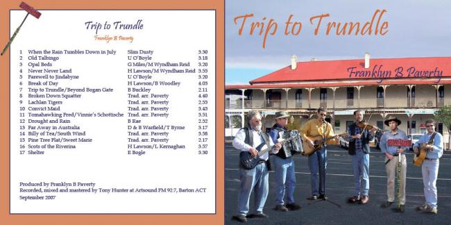 image of Trip to Trundle CD cover